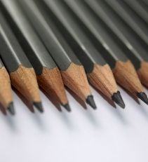 Unending Row of Pencils
