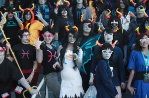 High Blooded Trolls From The Anime Expo 2012 Homestuck