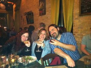 Jaym, Sandra, Andy at WHC 2011