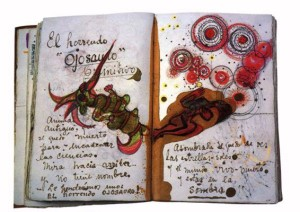 Frida Kahlo Diary Pages