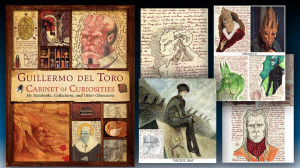 Del Toro Sketchbook & Cover of book