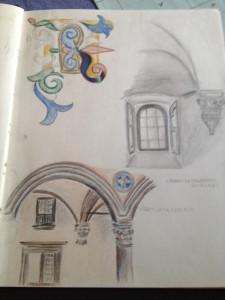 A peek at Fran's sketchbook.
